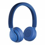 Casti bluetooth on ear JAM Been There Blue, microfon, Waterproof, 12 ore redare HX-HP202BL
