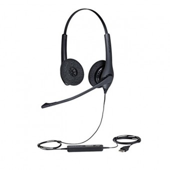 Casca Call Center Jabra Jabra BIZ 1500 Duo, USB, 1559-0159, Negru