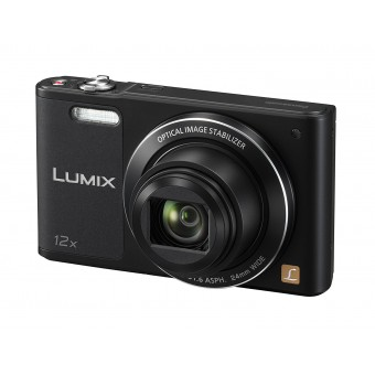 Camera foto Panasonic DMC-SZ10EP-K, zoom optic 12x, WI-fi, 16 megapixeli, neagra