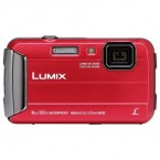 Camera foto Panasonic LUMIX Digital DMC-FT30EP-A, subacvatic, anti-soc, rosu