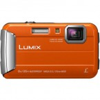 Camera foto Panasonic LUMIX Digital DMC-FT30EP-A, subacvatic, anti-soc, orange