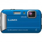 Camera foto Panasonic LUMIX Digital DMC-FT30EP-A, subacvatic, anti-soc, albastru