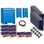 Kit  Fotovoltaic Victron Energy de 9 KW, Acumulator Banner EnergyBull 230A