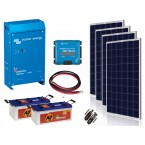 Kit  Fotovoltaic Victron Energy de 1 KW, Acumulator Banner EnergyBull 230A