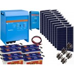 Kit  Fotovoltaic Victron Energy de 4,5 KW, Acumulator Banner EnergyBull 230A