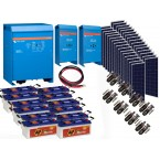 Kit  Fotovoltaic Victron Energy de 7,5 KW, Acumulator Banner EnergyBull 230A