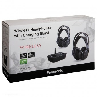 Casti wireless Panasonic RP-WF830WE - Negru (Duble)