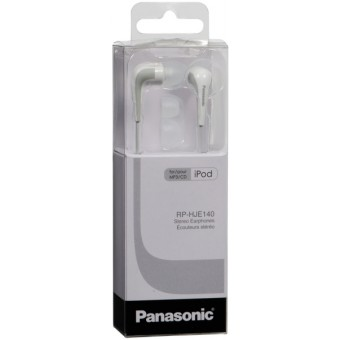 Casti intraauriculare Panasonic RP-HJE140E - Alb