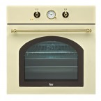 Cuptor Incorporabil Electric TEKA HR 550, Beige / Anthracite, Retro