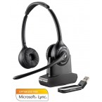 Casca Plantronics Call Center Wireless Savi W420-M, Stereo, Optimizat Microsoft 84008-02