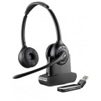 Casca Plantronics Call Center Wireless Savi W420, Stereo 84008-04