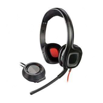 Casca PC Plantronics GameCom D60 + Amplificator, Microfon, Negru