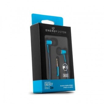 Casti Audio In-Ear Energy Sistem Urban 2 CYAN