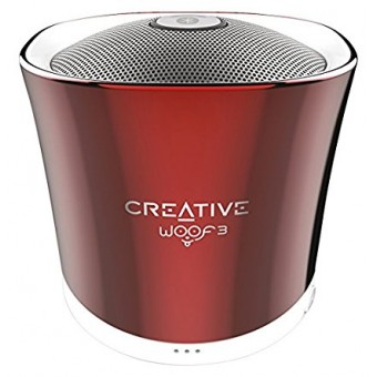 Boxa Bluetooth Creative Woof3, MP3/FLAC, Rosu