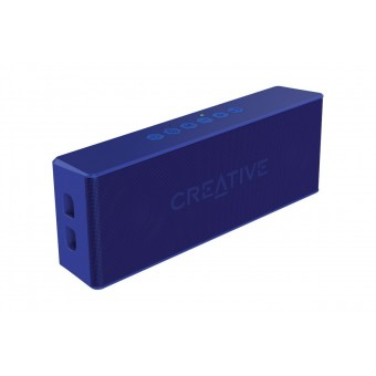 Boxa Bluetooth Creative MUVO2, MP3 Player, slot microSD, rezistent la apa, Albastru