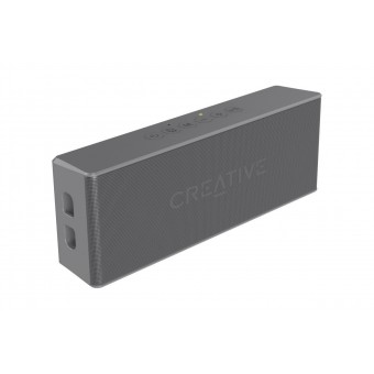 Boxa Bluetooth Creative MUVO2, MP3 Player, slot microSD, rezistent la apa, Grey