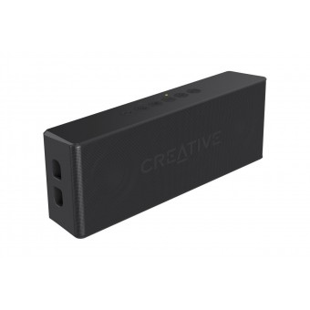 Boxa Bluetooth Creative MUVO2, MP3 Player, slot microSD, rezistent la apa, Negru