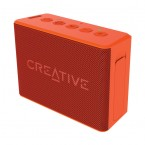 Boxa Bluetooth Creative MUVO 2C, slot microSD, rezistent la apa, Orange