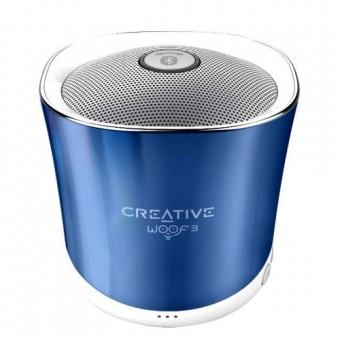 Boxa Bluetooth Creative Woof3, MP3/FLAC, Albastru