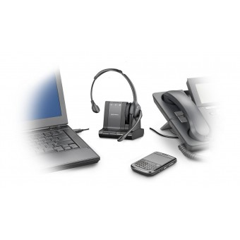 Casca wireless Plantronics W710/A / SAVI 3IN1/ UC / DECT