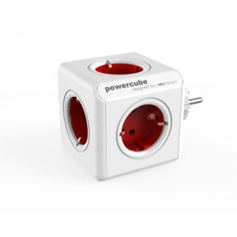 Priza PowerCube Allocacoc Original 1100RD,Red