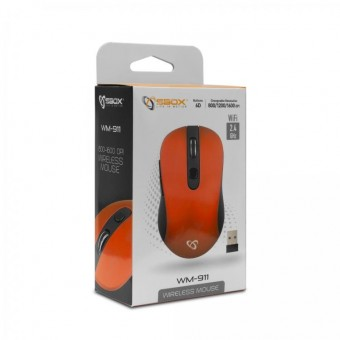 Mouse bluetooth SBOX WM-911R Rosu