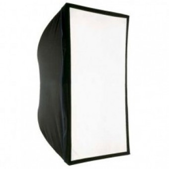 Softbox 80 x 120 cm + Conector metalic universal