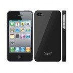 Carcasa  Xqisit iPhone 4S iPlate thin black  0.33mm