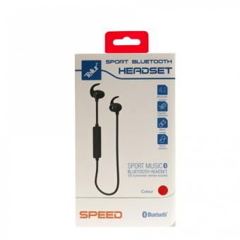 Casca Bluetooth Tellur Speed, Sport, Rosu