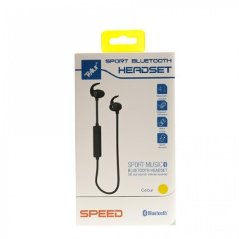 Casca Bluetooth Tellur Speed, Sport, Galben