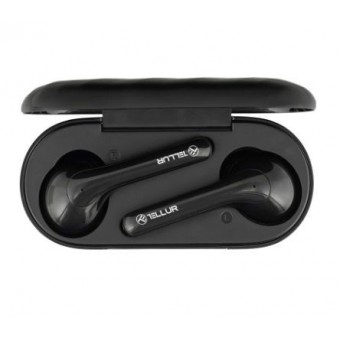 Casti In-Ear True Wireless Tellur Ambia, Stereo, Bluetooth Wireless, 16Ω, Negre
